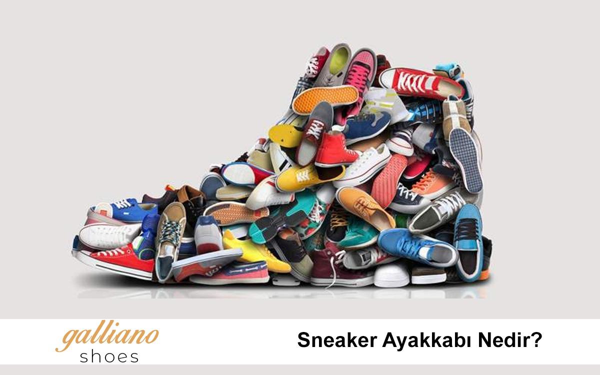 sneaker ayakkabı nedir