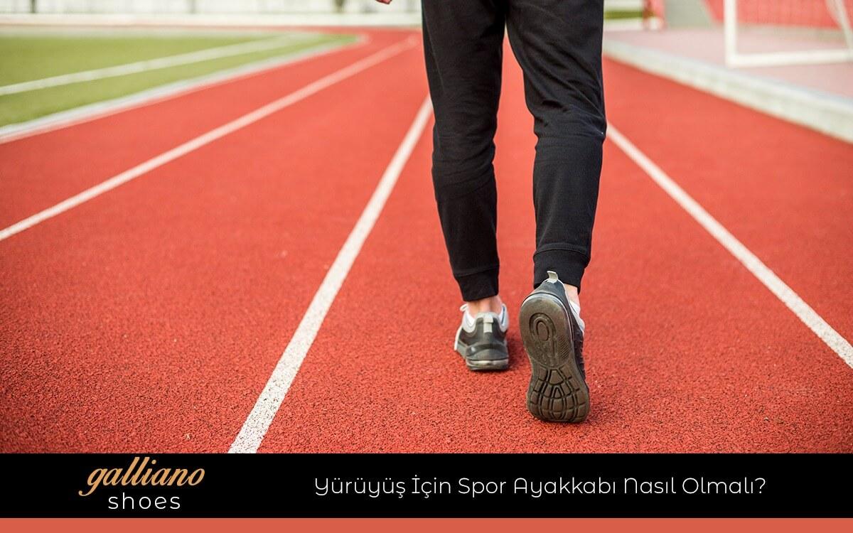 Yürüyüş İçin Spor Ayakkabı Nasıl Olmalı?